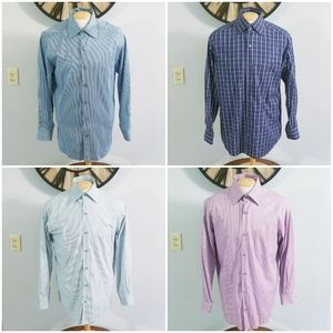 Lot of 4 Ermenegildo Zegna L/S Button Up Shirts